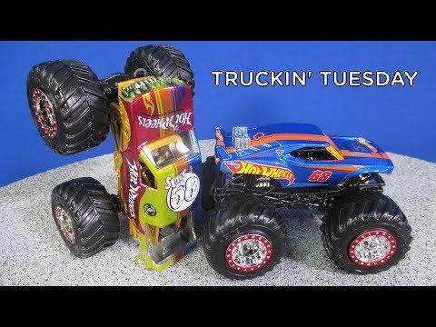 Truckin' Tuesday! 2018 Monster Jam World Finals Hot Wheels Team Firestorm