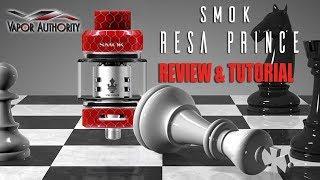 Smok Resa Prince Sub Ohm Tank - Review and Tutorial