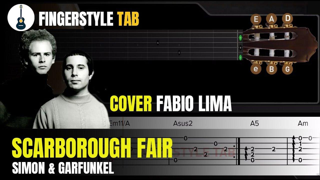 SCARBOROUGH FAIR - Arranjo Violão Fingerstyle + Tablatura (Cover: Fabio Lima)