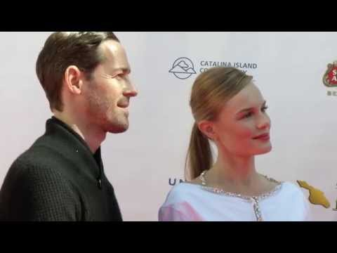 Kate Bosworth & Michael Polish on the Red Carpet at the Catalina Film Festival