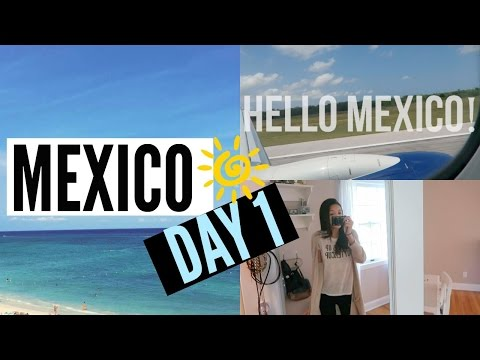 Mexico Vacation Day 1!! Vacation Vlogs 2016