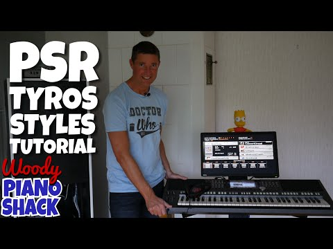 Yamaha PSR-S970 Demo & Review 05 - Anatomy of a Tyros PSR style tutorial (lots of playing!)