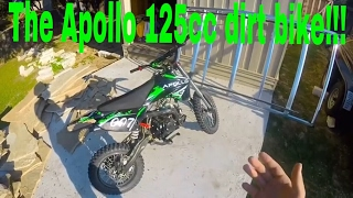 2016 Apollo 125cc Dirt Bike
