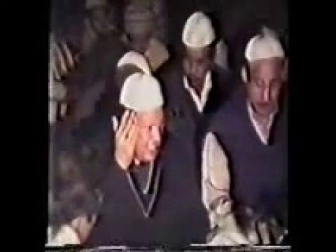 peer Haider shah( Manqbat)Ustad Nusrat fateh Ali Khan urs pak 1991 Astana alia jalalpur sharif part
