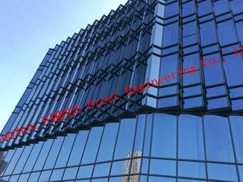 Double Glass Solar Modules Component Photovoltaic Facade Curtain Wall Solar Cell Electric PV Systems