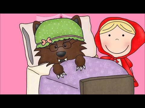 Little Red Riding Hood - Fairy Tale for Children   Kids Learning Videos