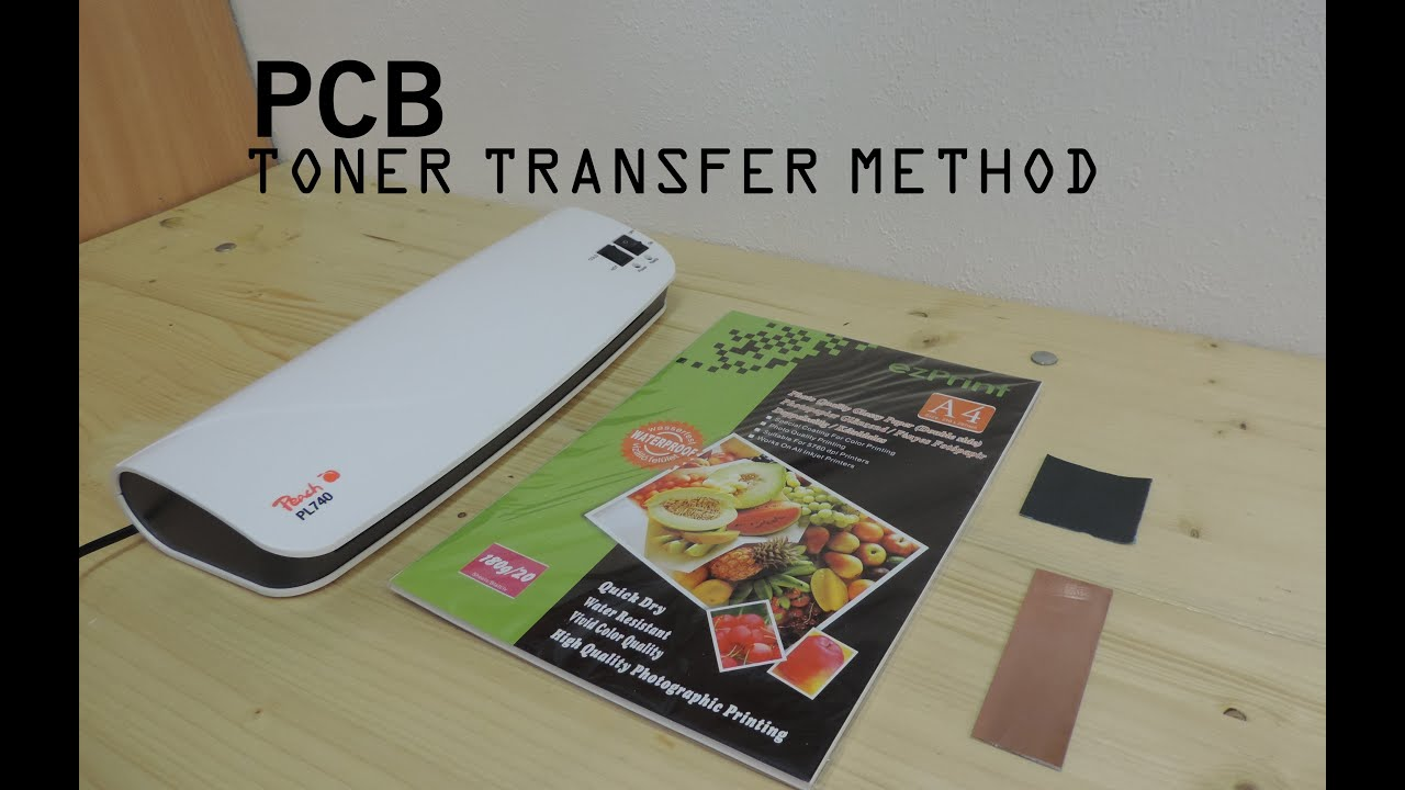 How To Make Pcb Using Toner Transfer Method Youtube Etch Your Circuit Boards This Simple Diy Recipe Uses Common Household