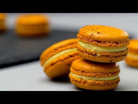 美食台|百香果馬卡龍 Passion Fruit Macaron