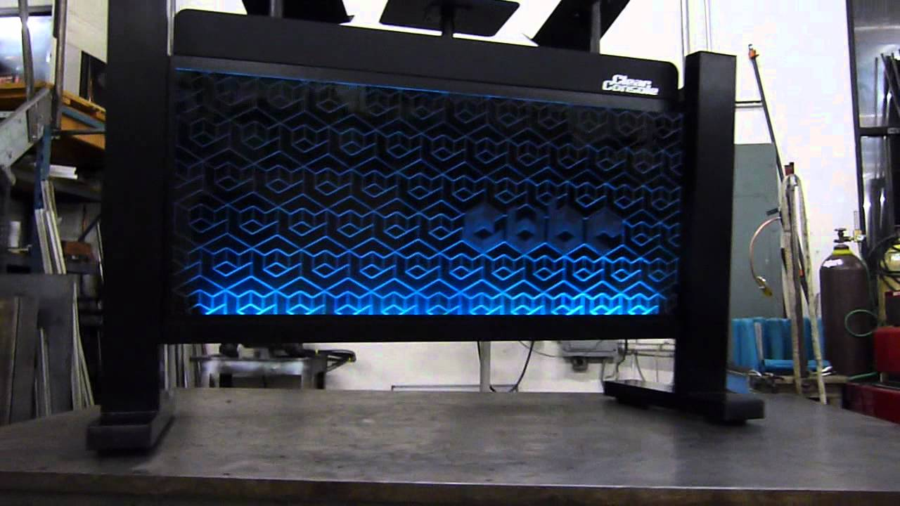 Custom DJ Stands | Clear Console™ Carbon LED-Pro - YouTube