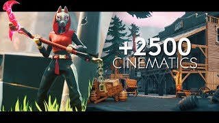 ULTIMATE FREE Fortnite Cinematic Pack - Season X Update (+2500 FREE Cinematics)