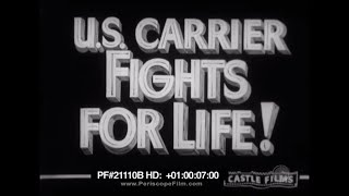 US Carrier Fights for Life  USS Yorktown Battle of the Coral Sea World War II 21110b HD