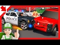 Police chase cartoon for children and Blaze and the Monster Machines - full episodes