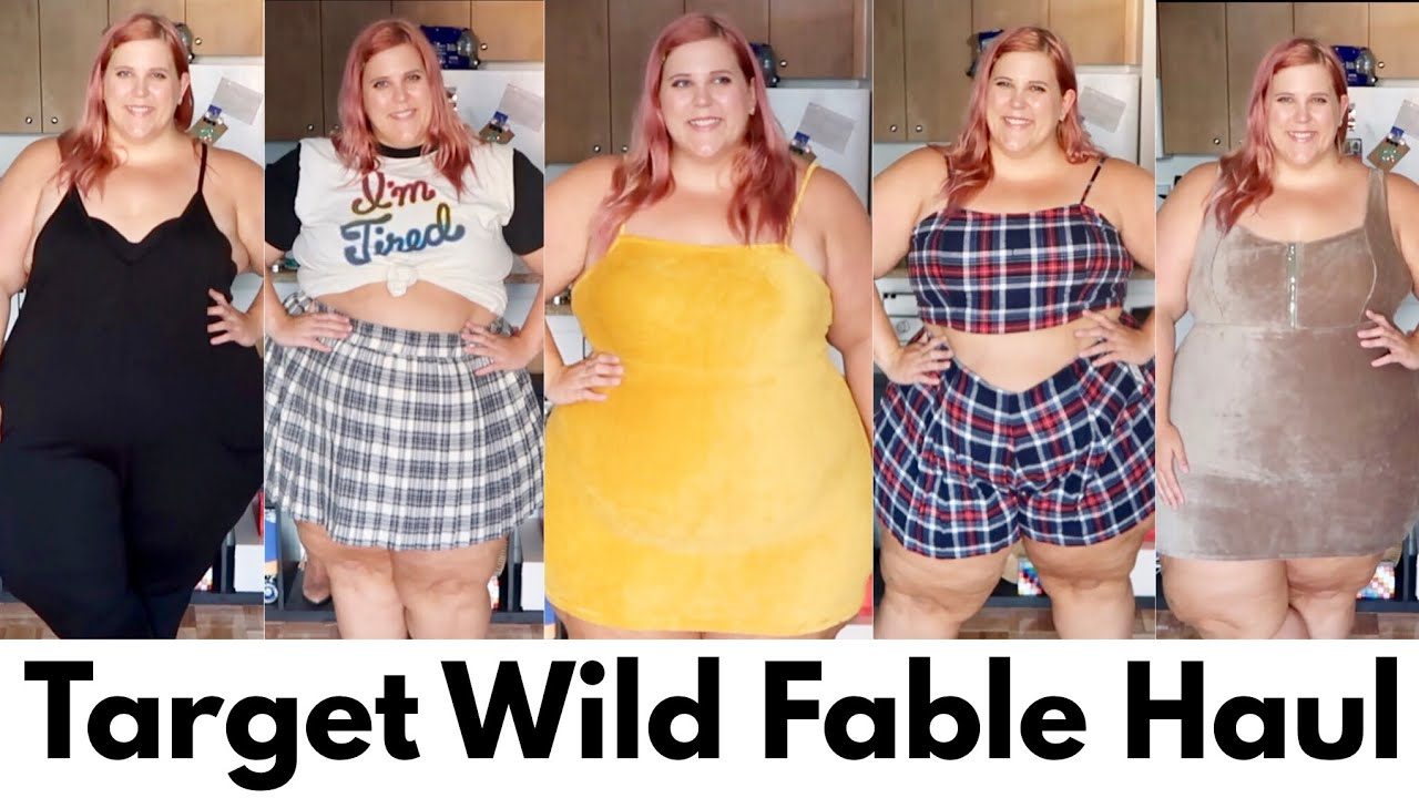 52d602e617c670 Target Wild Fable Haul: Affordable Plus Size Clothing - YouTube