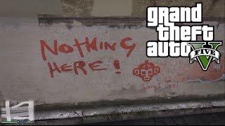 GTA 5 - ИНТЕРЕСНАЯ НАХОДКА: 'Turn Back - Nothing Here' [Троллинг от разработчиков]