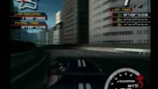 Ridge Racer V - Racer X vs Pluto