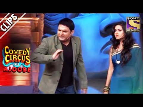 Drunkard Kapil Troubles His Wife, Sargun | Comedy Circus Ke Ajoobe