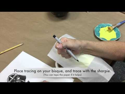Pottery Painting 101: Trace and Transfer Technique from YouTube · Duration:  2 minutes 56 seconds