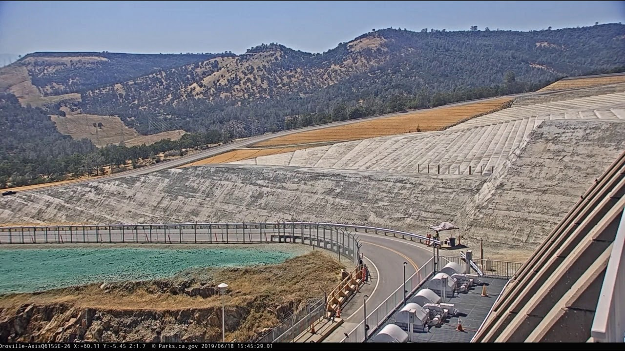 DWR Shut Down Oroville Dam Live Cams because of Susan