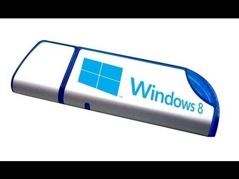 windows 8 from usb boot