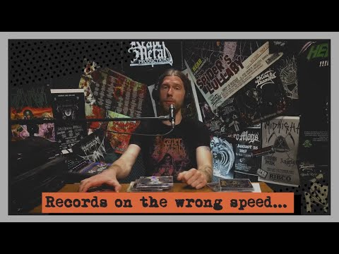 Brazilian Metal Records on the Wrong Speed...