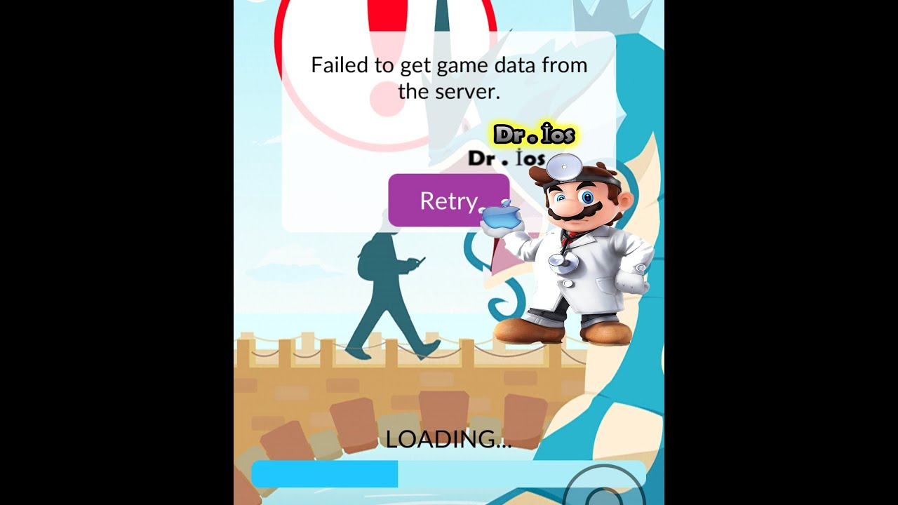 Failed to pokemon get player information from server - Pokemon Go Fix Ban Unban Failed To Get Game Data From The Server Youtube