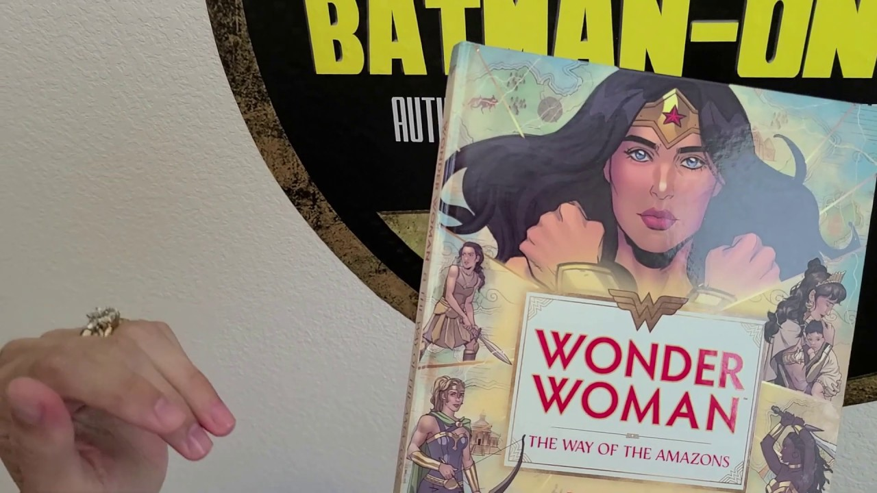 WONDER WOMAN: THE WAY OF THE AMAZONS Book Review