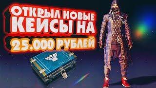 ОТКРЫЛ НОВЫЕ КЕЙСЫ НА 25.000 РУБ В PUBG (DESPERADO CASE)