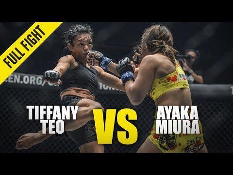 Tiffany Teo vs. Ayaka Miura | ONE Full Fight | February 2020