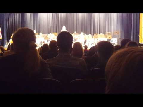 Two British Folksongs performed by Joseph Sears School Concert Band