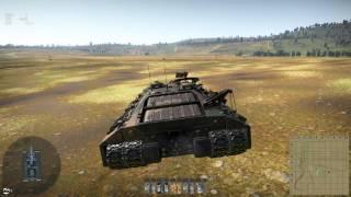 War Thunder T95 default APCR front T10M
