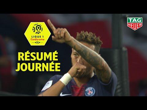 Résumé 1ère journée - Ligue 1 Conforama / 2018-19