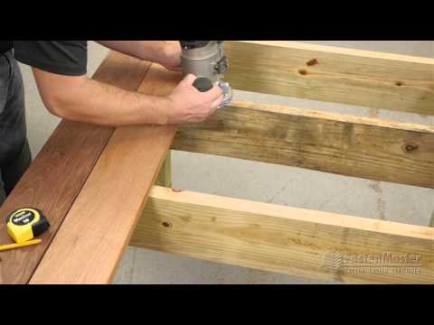 FastenMaster Tiger Claw TC-G -- How to Groove a Deck Board