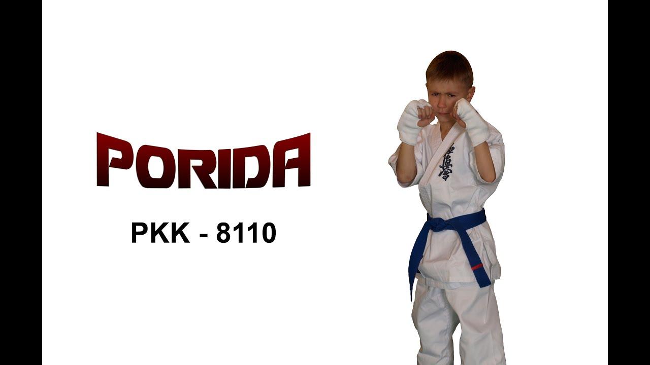 Kimono Karate Kyokushin Dla Dzieci Porida Youtube