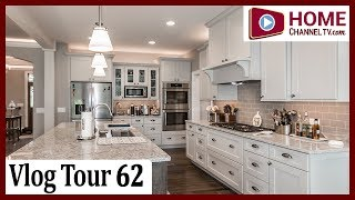 Open House Tour (Vlog 62)   KLM Custom Ranch Tour with Homeowners