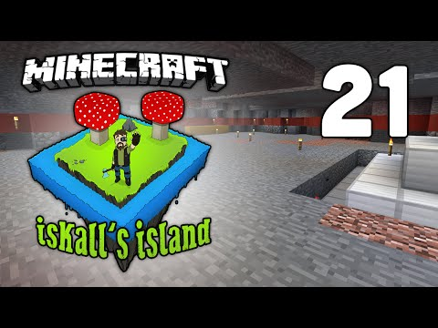 Iskall's Island - Vanilla Minecraft Lets Play - 21 - Mob farm mechanics