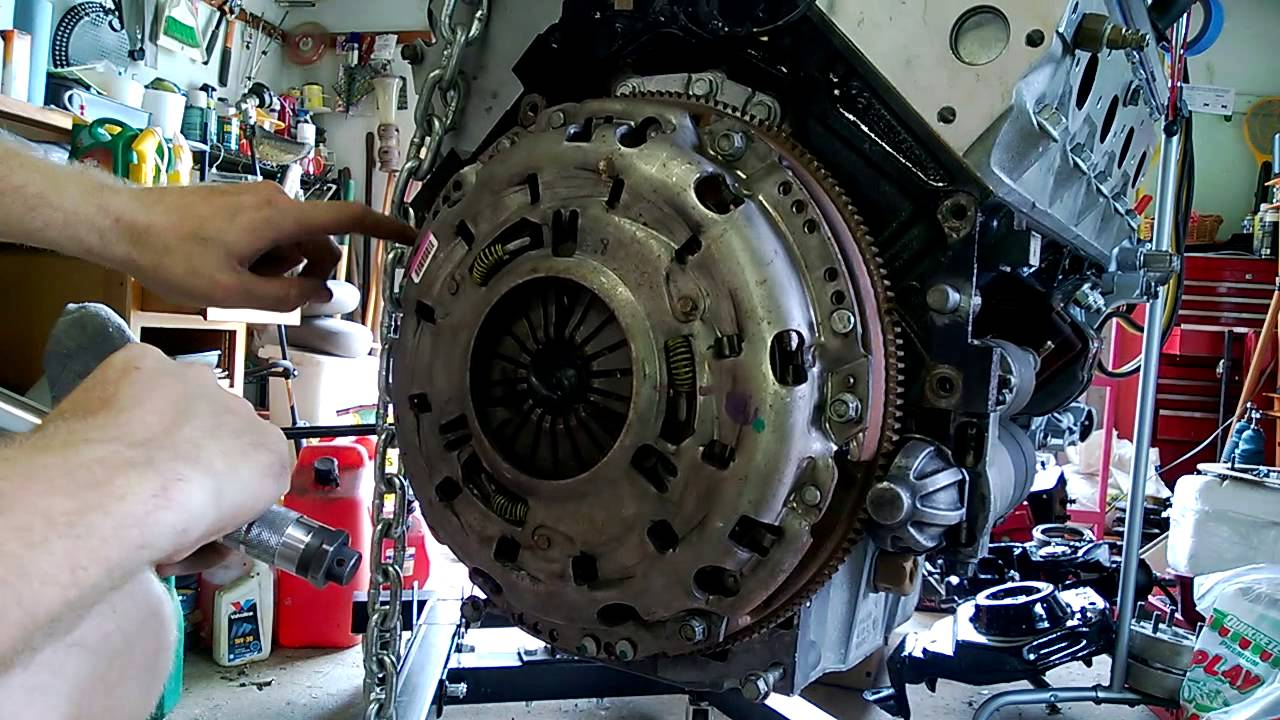 For A Chevy 350 Starter Motor Wiring Diagram Clutch Install And Bellhousing Attach Lq4 Build Ls7