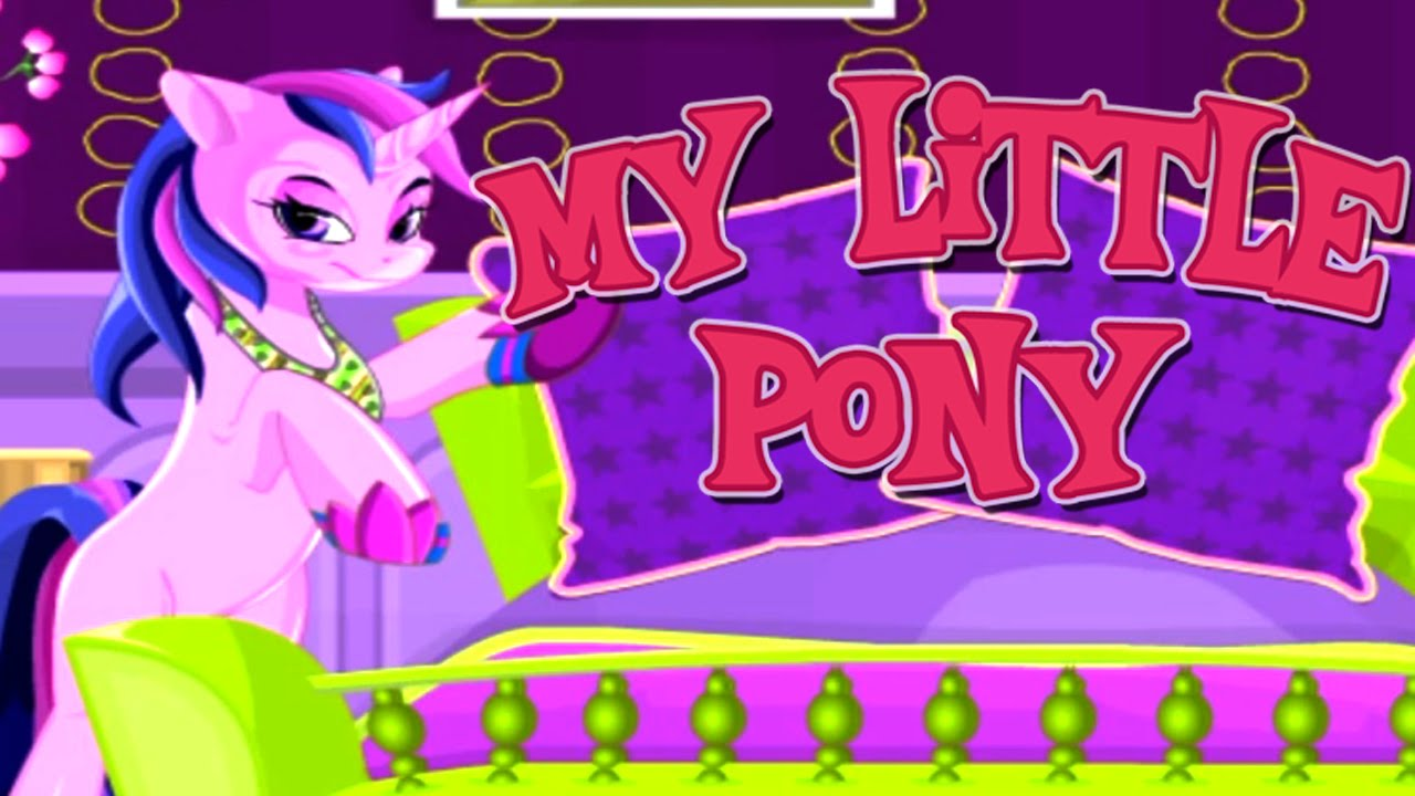 My Little Pony Bedroom Decor Twilight Sparkle Decorate Game For Girls