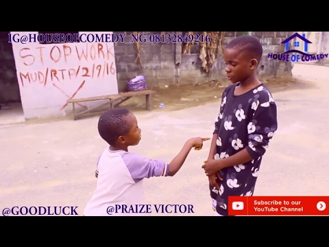 GOODLUCK THE STRENTHLESS FIGHTER (PRAIZE VICTOR COMEDY) (Nigerian Comedy)