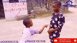 GOODLUCK THE STRENTHLESS FIGHTER PRAIZE VICTOR COMEDY Nigerian Comedy