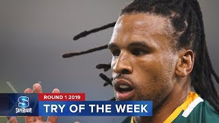 TRY OF THE WEEK: Round 1 2019