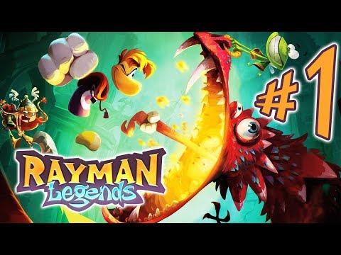 Rayman Legends - Parte 1: Ao Vivo XD [ Nintendo Switch - Playthrough ]