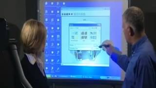 Visualiser with Interactive Whiteboard Thumbnail