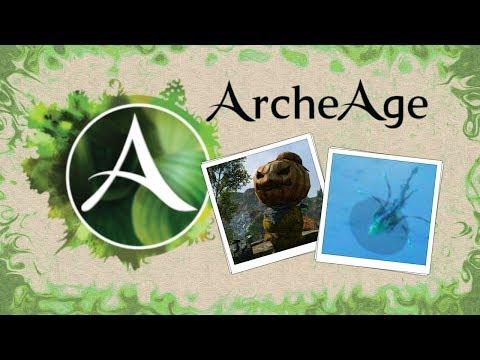 ArcheAge. Большое пугало, полное прохождение квеста за запад.