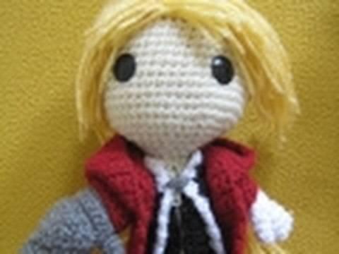 Crocheted Ed Elric - YouTube