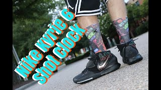 NIKE KYRIE 6 SHOT CLOCK SHOTCLOCK ELEVEN REVIEW & ON FEET!!
