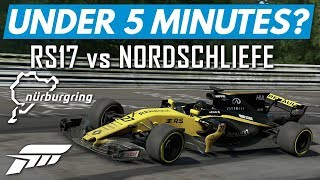 Forza 7│Under 5 Minutes Around The Nurburgring? (Renault RS17)