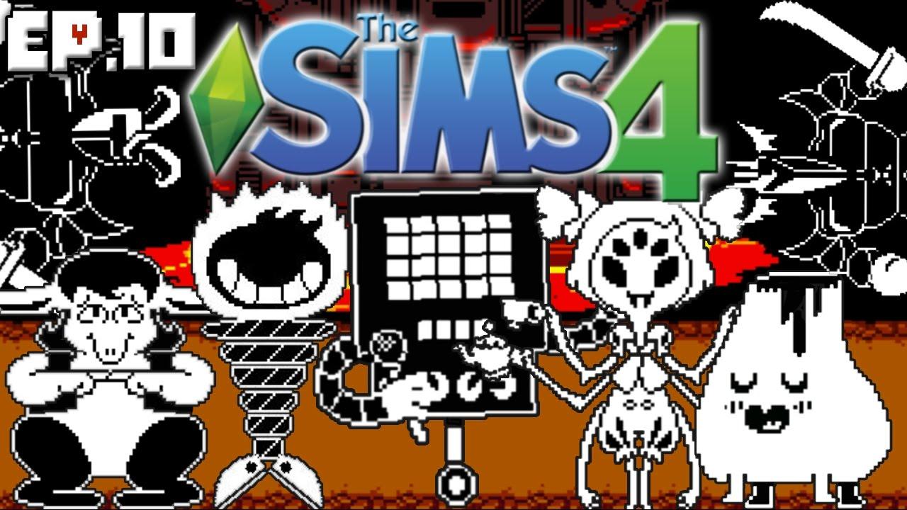 hotland the sims 4 undertale theme ep 10 create a sim