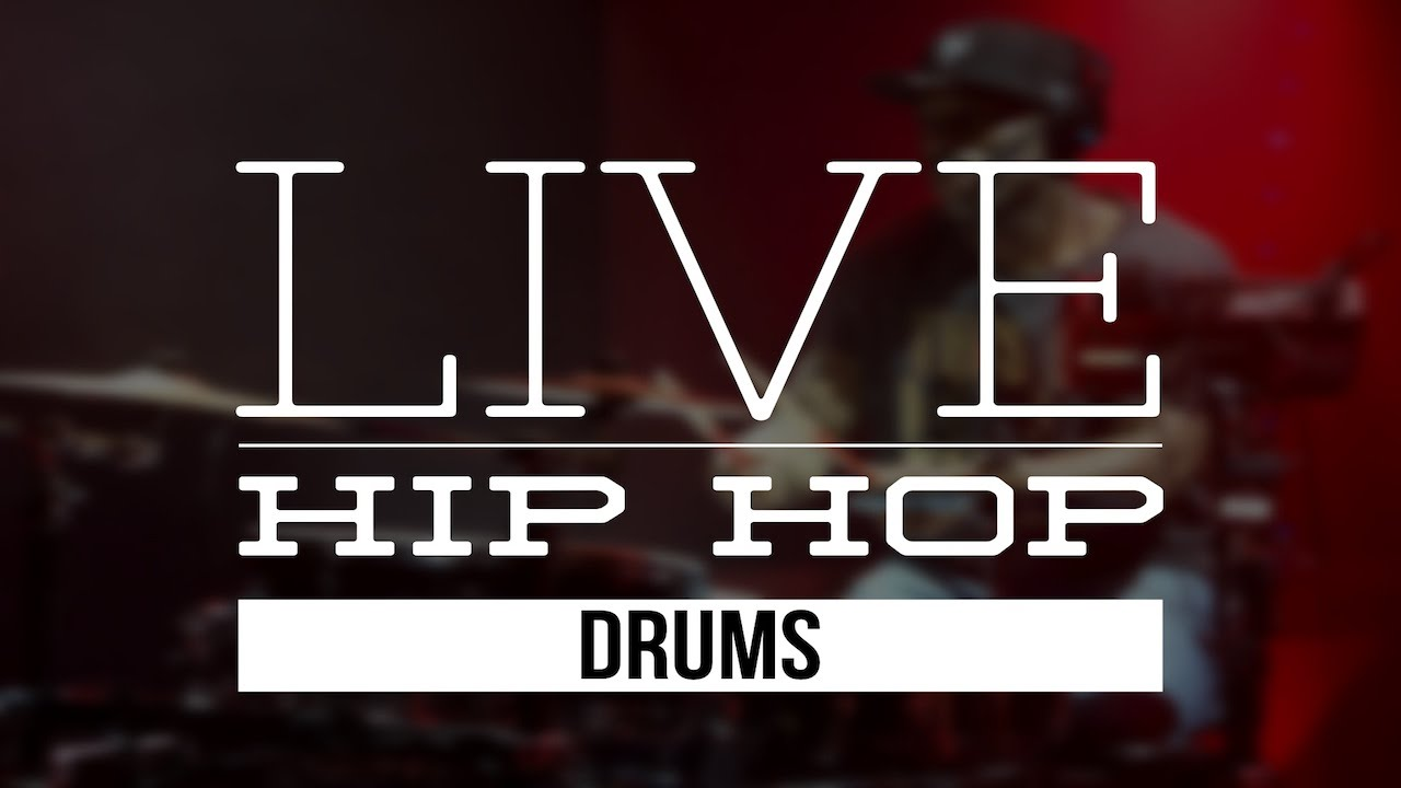 Live Hip Hop Drums Sample Library - YouTube