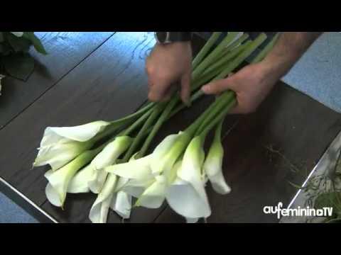 HOA LOA KEN, HOA LAN, CAM LO DE BAN - Bouquet de mariée retombant