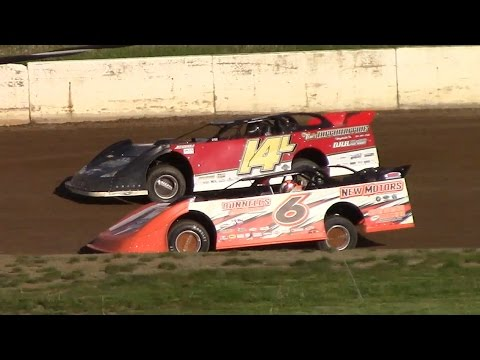 RUSH Crate Late Model Heat One | Eriez Speedway | 5-14-17